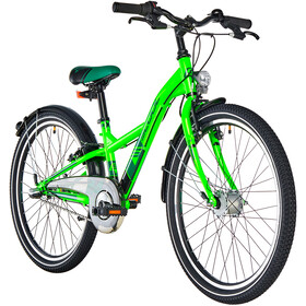 s'cool XXlite 24 3-S Steel Kids, neon green